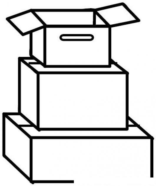 Carton para dibujar imagui for Cajas de carton infantiles