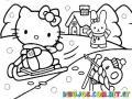 Dibujos De Kitty Para Pintar Y Colorear