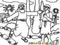 Dibujo Biblico Del Hijo Prodigo Para Pintar Y Colorear