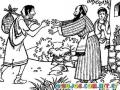 El Retorno Del Hijo Prodigo Y El Hermano Envidioso Para Pintar Y Colorear Lucas15