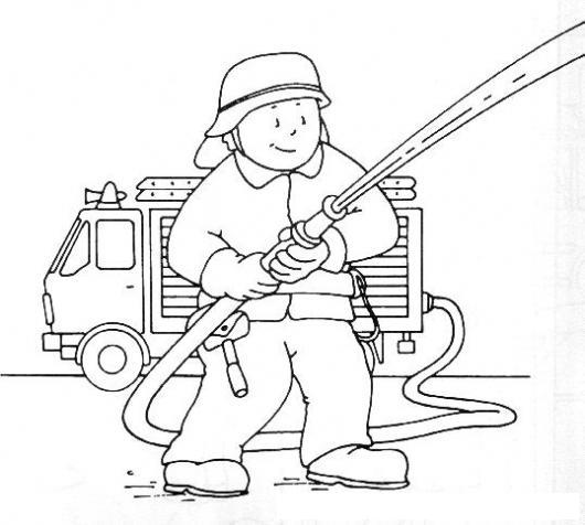 dibujos de un incendio para pintar  imagui